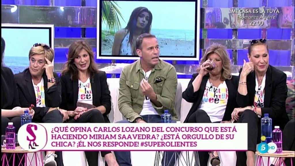 """Carlos Lozano: """"Si veo que Miriam lo pasa mal, prefiero tenerla conmigo"""""""