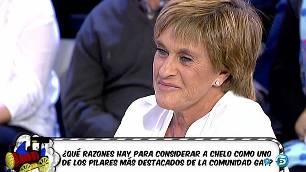 ¡Chelo García Cortés, una de las famosas más icónicas del mundo gay!