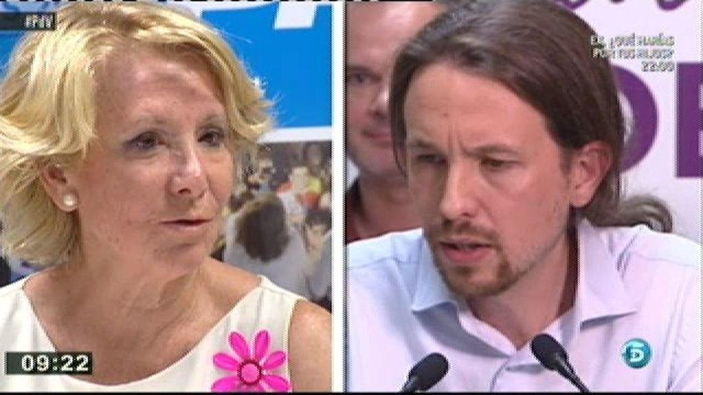 Aguirre dice que 'Podemos' usó técnicas utilizas por el fascismo y el comunismo en su campaña