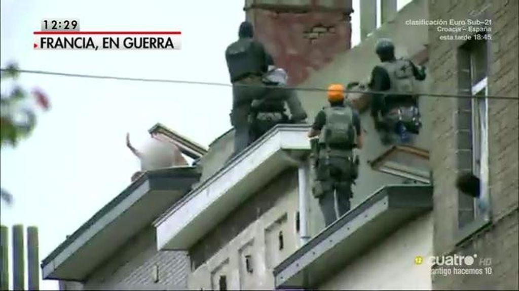 El gobierno francés moviliza a 115.000 militarles, gendarmes y policías