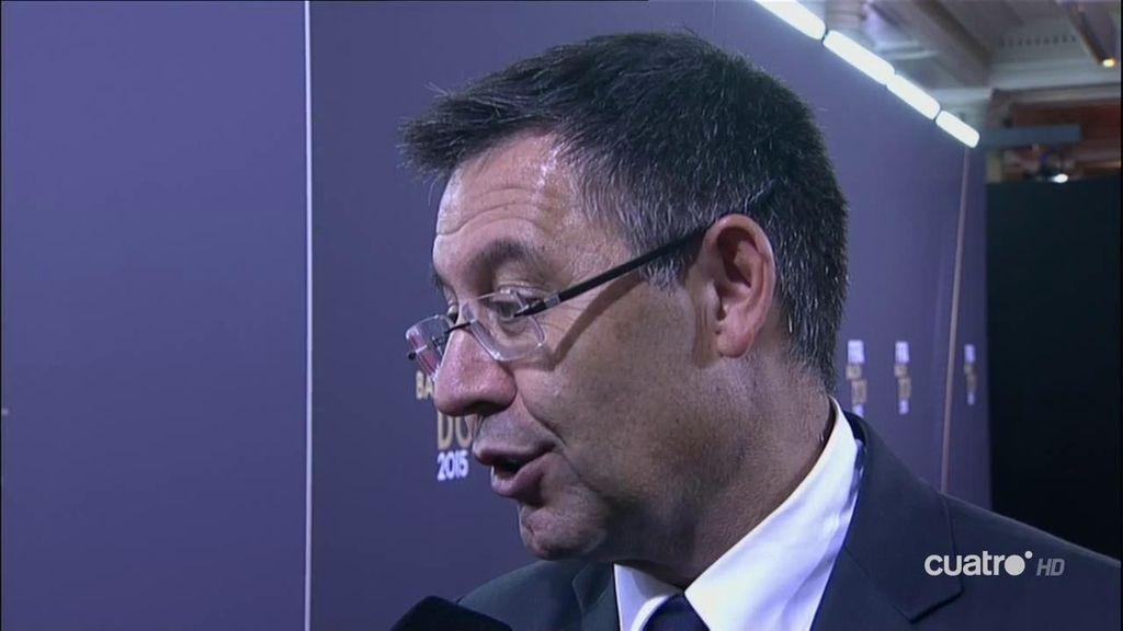 """Bartomeu, sobre el polémico tuit del Barça: """"No creo que nadie se sienta excluído"""""""