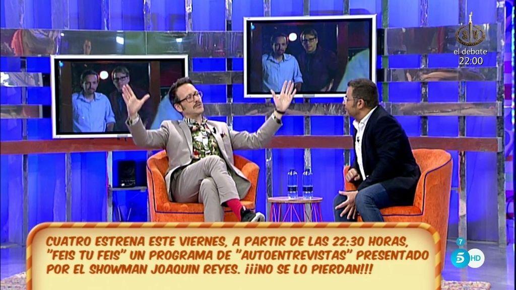 """J. Reyes estrena 'Feis tu feis': """"Quizá, Pablo Iglesias es con quien más me costaba rascar"""""""