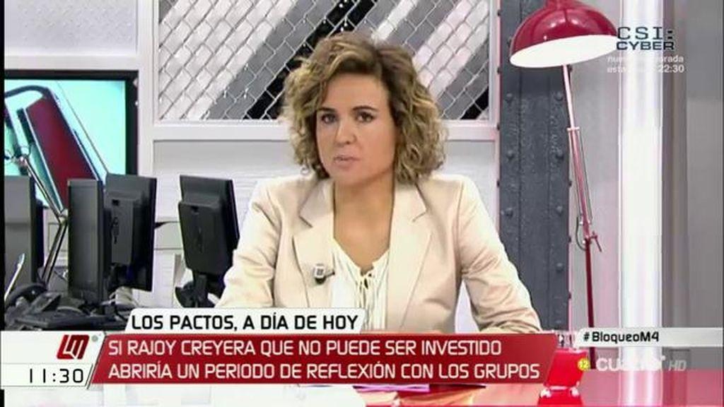 """D. Montserrat: """"Hemos pasado una propuesta abierta al diálogo, nos estamos mojando"""""""