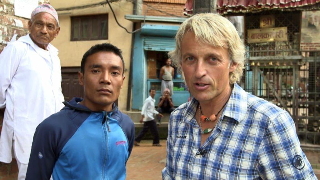 La historia personal y conmovedora de Jesús Calleja con Nepal