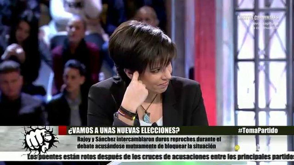 """Beatriz Talegón, sobre el debate: """"Hay poca capacidad política y humana"""""""