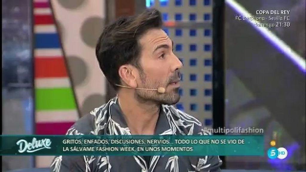 """Manuel Zamorano, estilista: """"Una persona no se portó bien con mi equipo"""""""