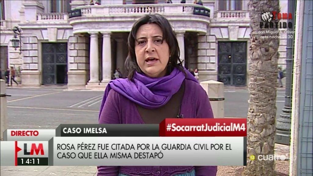 """Rosa Pérez, de los mensajes de Rita Barberá: """"Esto nos hace ver que este caso era mucho más grande de lo que parecía"""""""