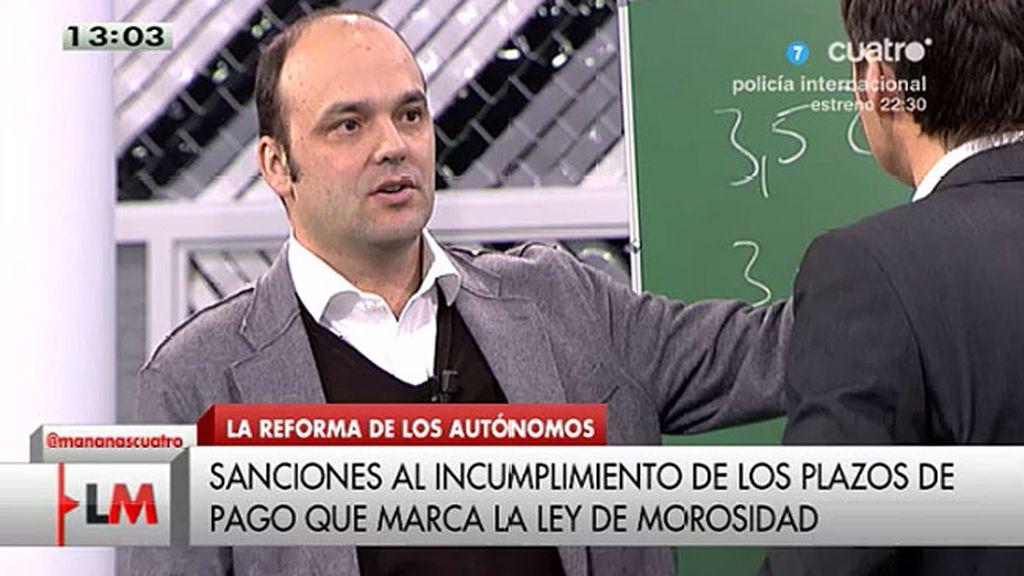 """José Carlos Díez, economista: """"Se ha vuelto a desplomar el crédito"""""""