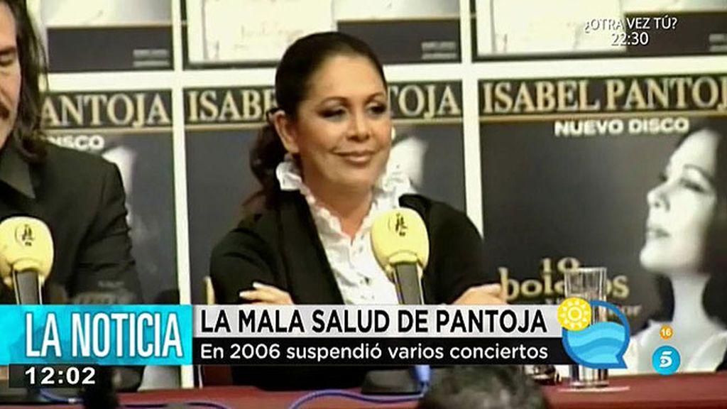 Los problemas de azúcar de Isabel Pantoja se remontan a 2001