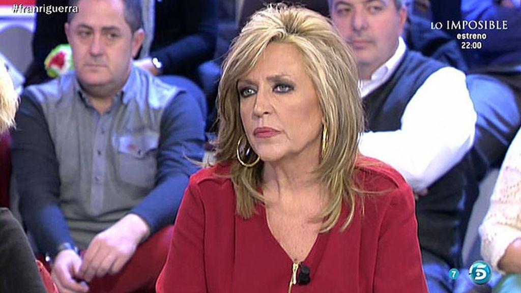 """Lydia Lozano: """"Los médicos desaconsejan el traslado de la Duquesa de Alba"""""""