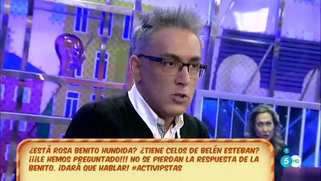 Amador Mohedano y Jacqueline se veían desde el 2010, según Kiko Hernández