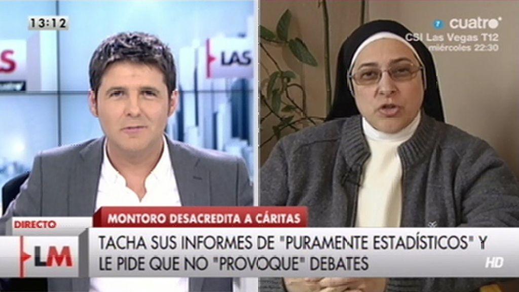 """Sor Lucía, sobre Montoro: """"O demuestra que el informe no es real o que dimita"""""""