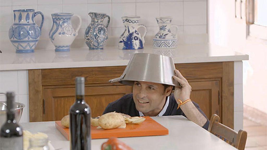 Fran, Bertín y sus habilidades culinarias