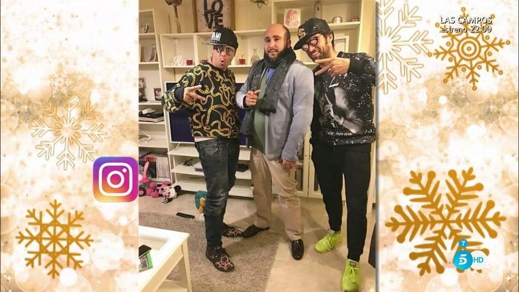 Kiko Rivera celebra las navidades junto a sus hermanos