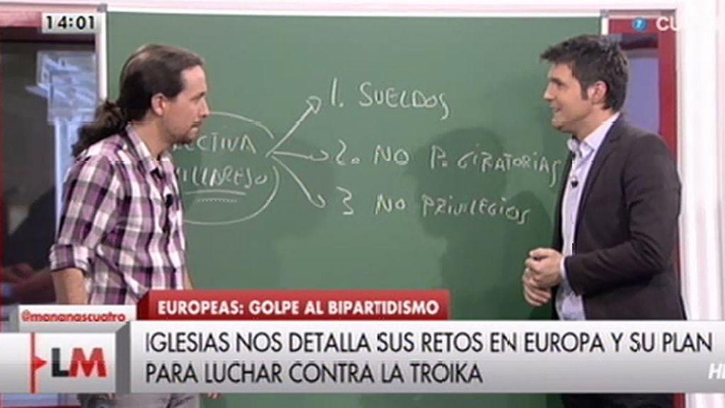 La 'Directiva Villarejo', primera propuesta de Podemos contra la corrupción