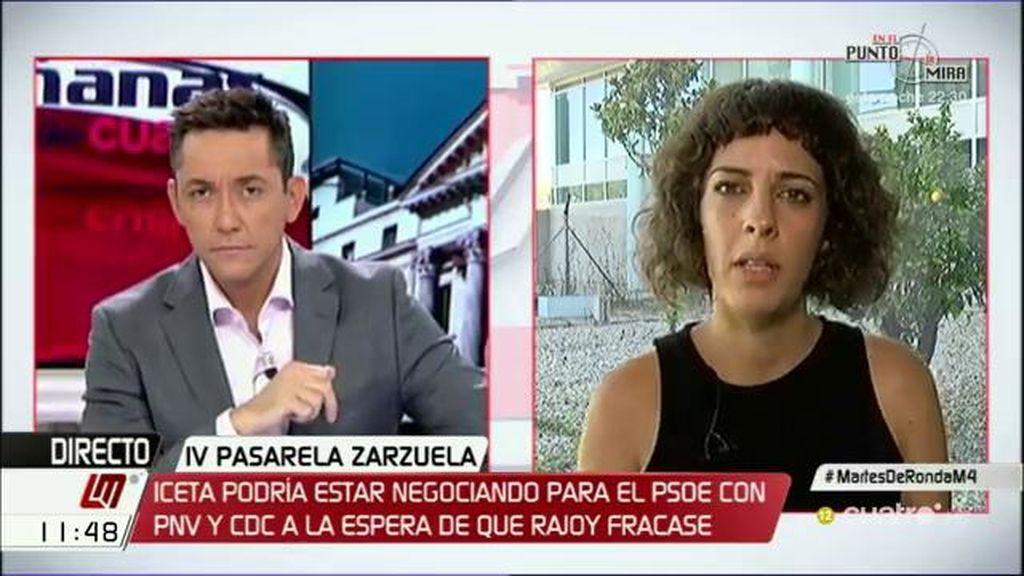 """A. Fernández: """"Es el día de la marmota, seguimos sin saber la apuesta del PSOE"""""""