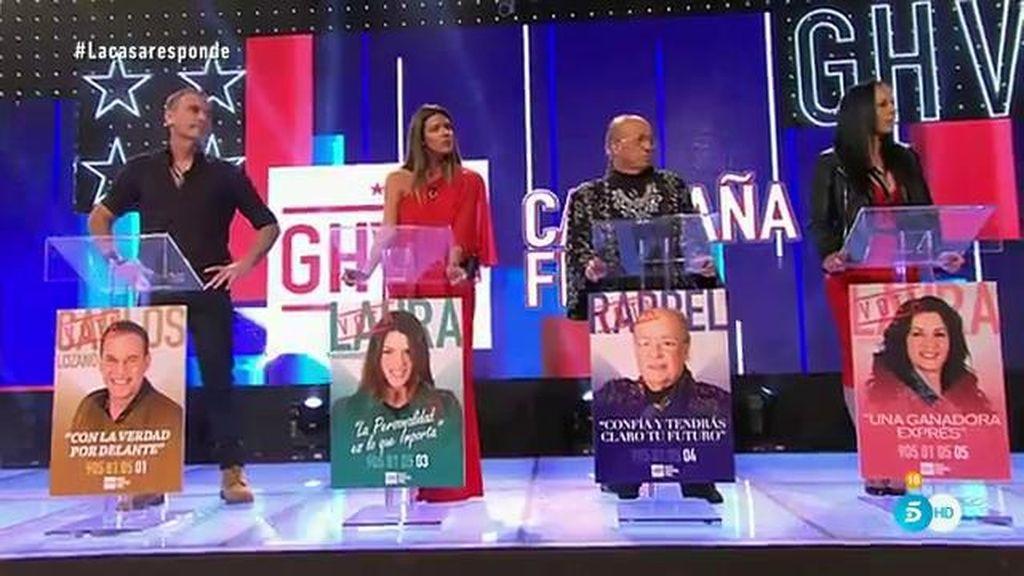 Tensión máxima durante la rueda de prensa de los aspirantes a finalistas de 'GH VIP 4'
