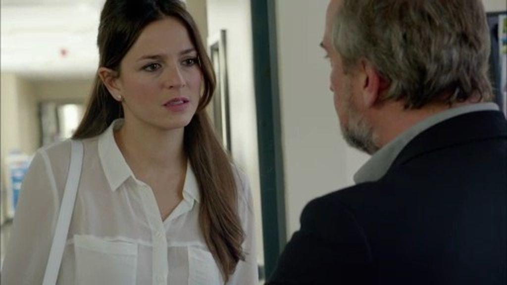 """Pablo, a Clara: """"Candela está entre la vida y la muerte. Márchate de aquí"""""""
