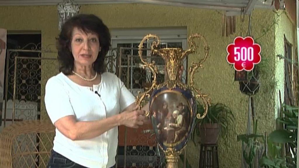 María vende 'belleza doméstica'