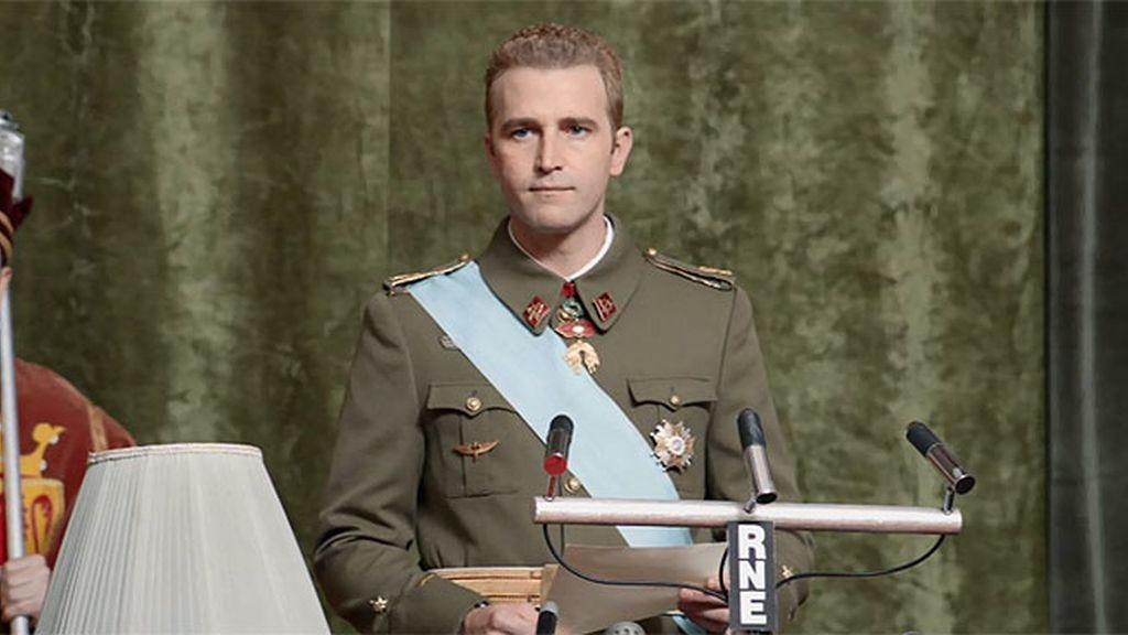 Discurso de aceptación: Juan Carlos se convierte en el sucesor de Franco