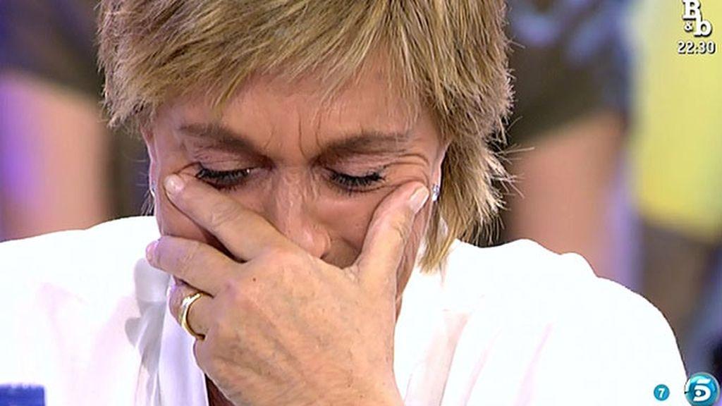 """La pareja de Chelo responde: """"Es la ilusión que necesito, vivir con ella es una alegría"""""""