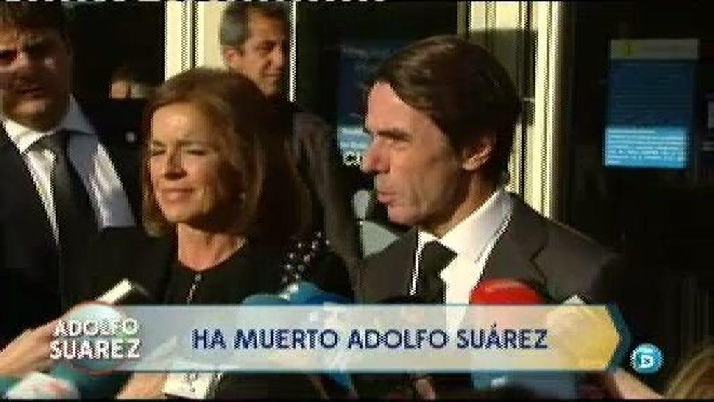 """Aznar despide a un """"aliado y amigo"""""""