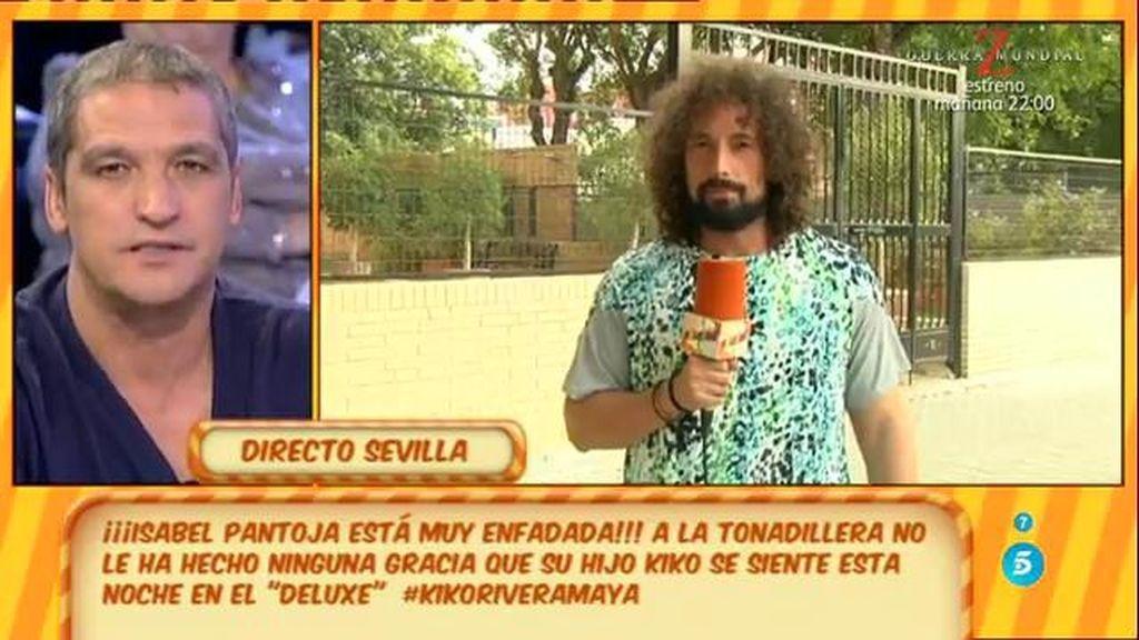 Isabel Pantoja no está de acuerdo con la entrevista de Kiko Rivera en el 'Deluxe'