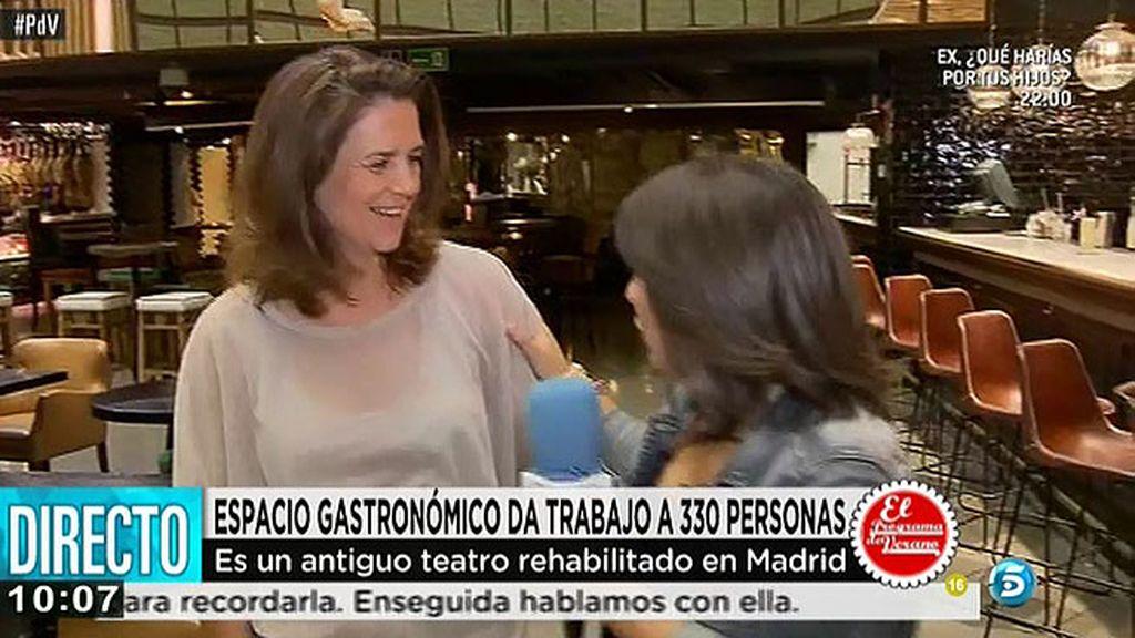 Platea Madrid, un espacio gastronómico que da trabajo a 380 personas