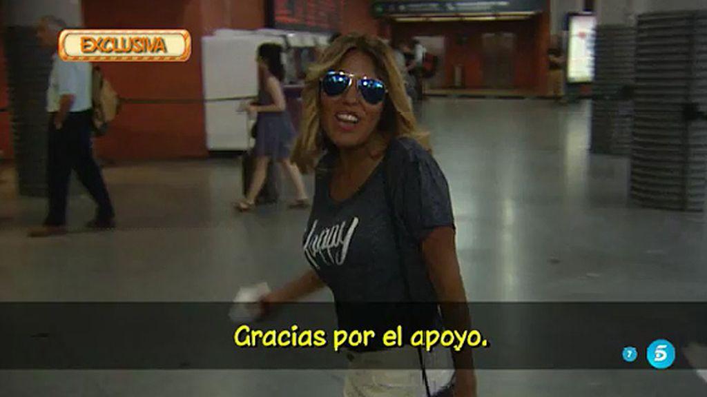 Primeras imágenes de Chabelita tras su salida de 'Supervivientes'