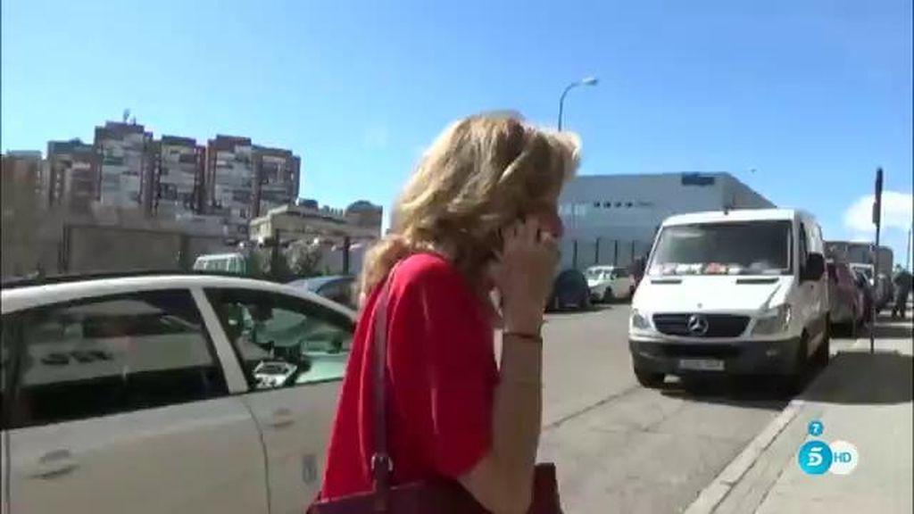 "Rosa Benito, irónica: ""Estoy hundidísima"""