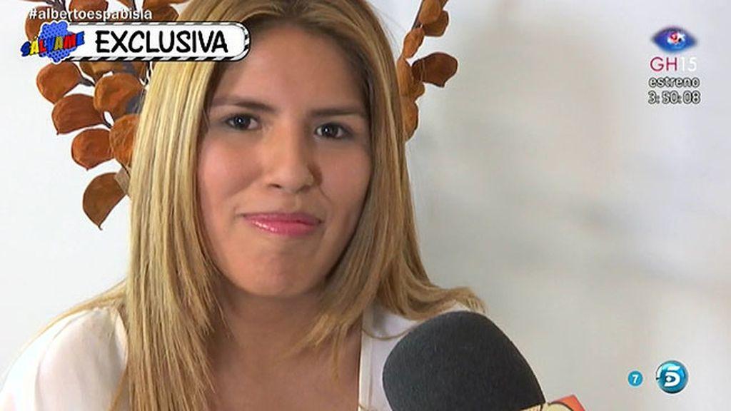"""Chabelita: """"No soy posesiva, pero sí soy celosa cuando me dan motivos"""""""