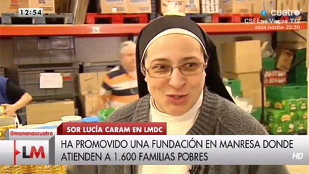 Sor Lucía nos muestra cómo es su día a día
