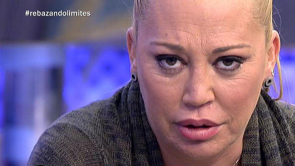 """Belén Esteban, a Jesulín de Ubrique: """"Tenías a tu mujer en el estreno, pero también podrías haber tenido a tu hija"""""""