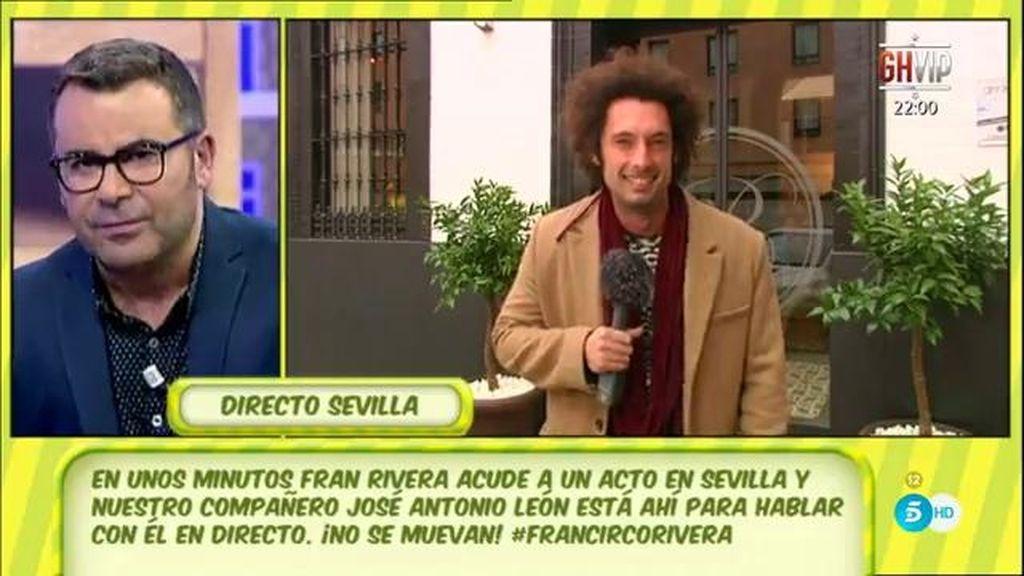 El nuevo look de José Antonio León