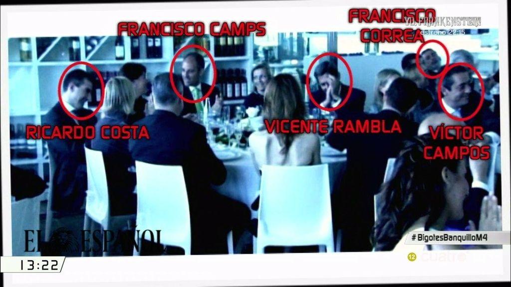 El vídeo de la boda de El bigotes revela su estrecha relación con el PP valenciano