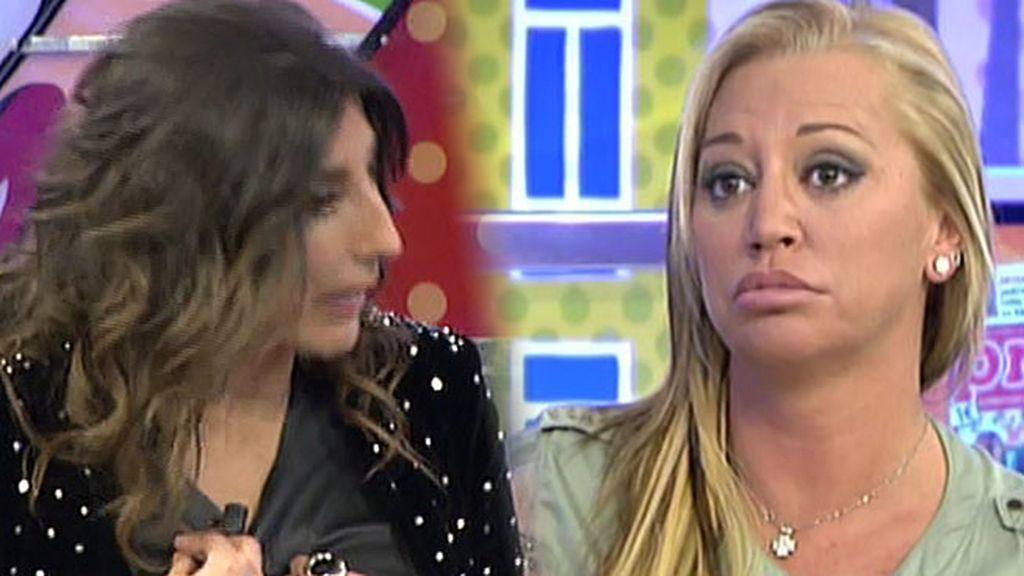 """Belén Esteban, a Paz Padilla: """"¿Hablo yo de tu novio o saco el Código Penal?"""""""