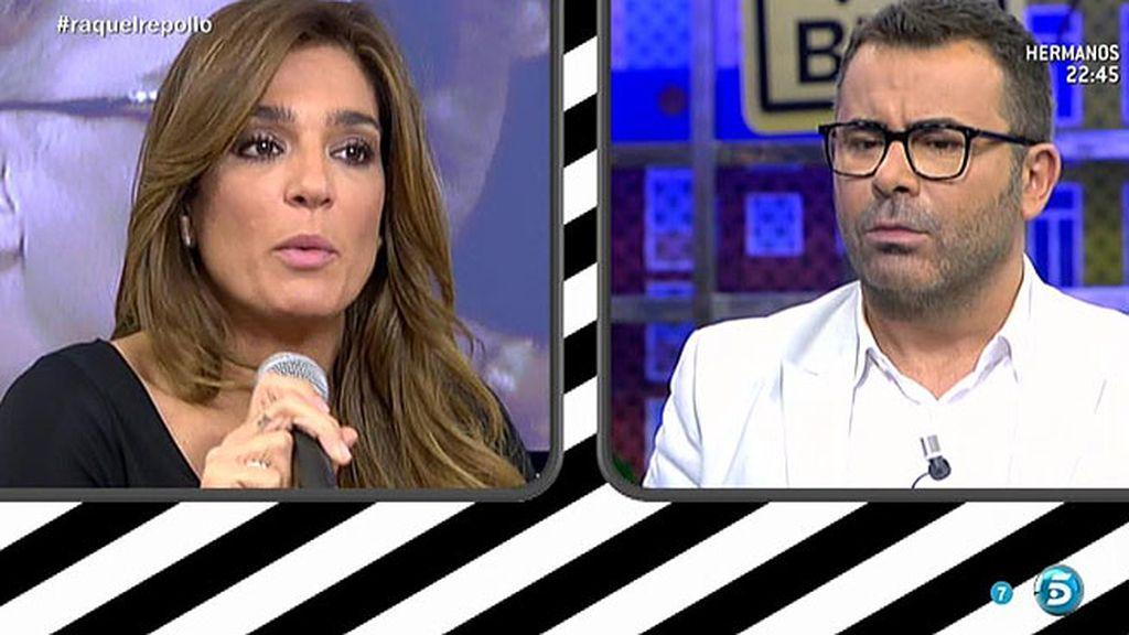 ¿Qué le pasa a Raquel con Jorge Javier?