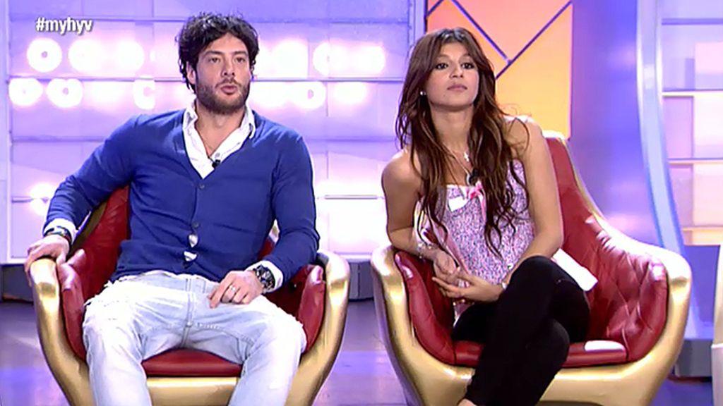 """Alessandro, sobre Aguasantas: """"Sé cómo va la historia y no he intentado nada con ella"""""""