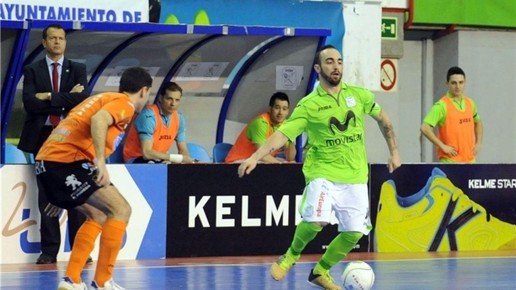 Inter Movistar derrota al Burela Pescados Rubén en lo más alto de la tabla (5-1)