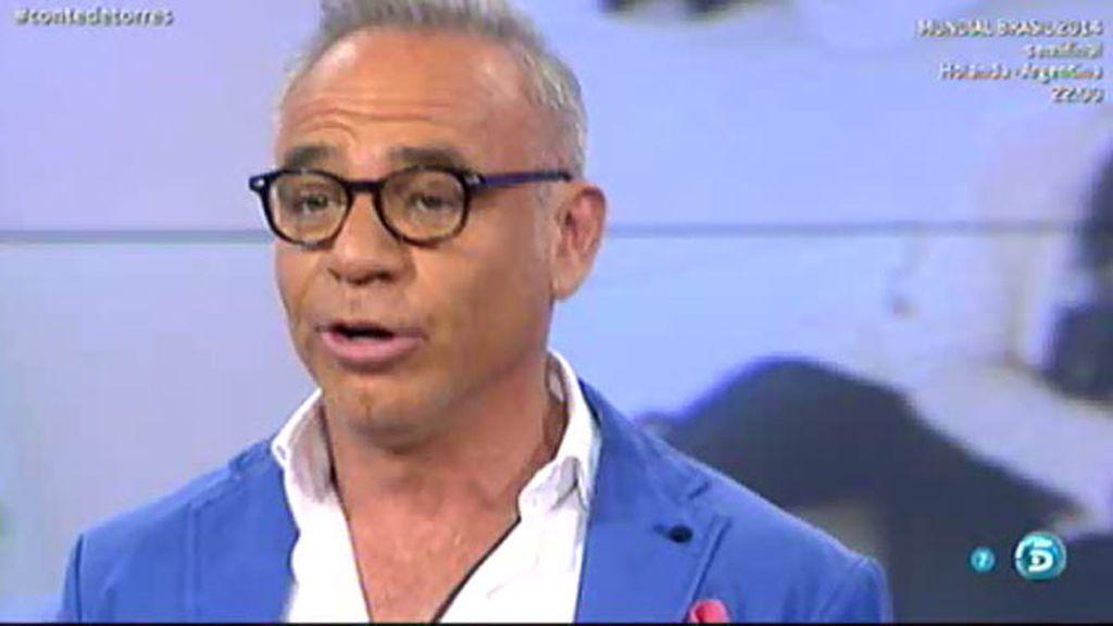 Joaquín Torres anuncia que deja 'Sálvame'