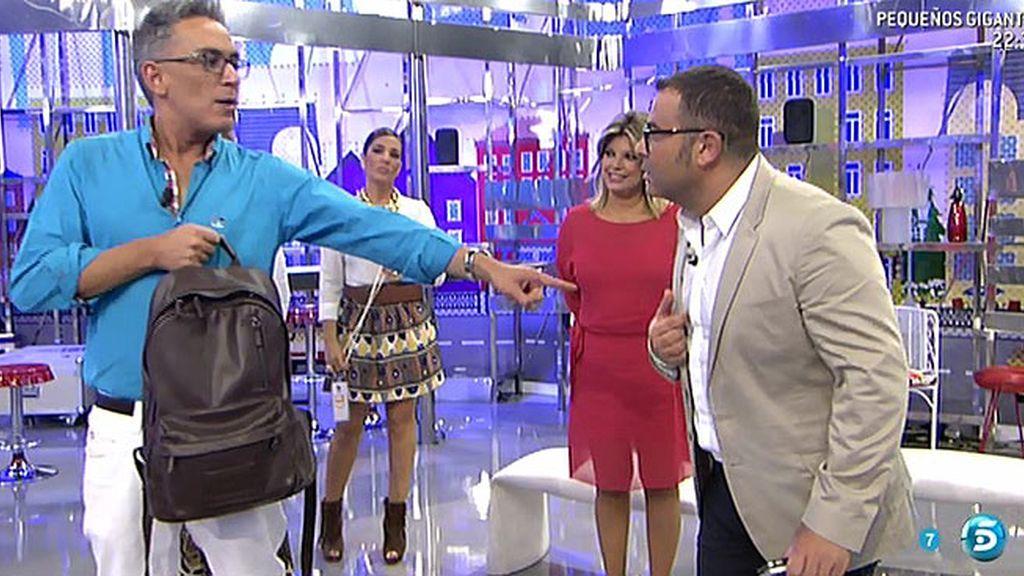 """K. Hernández, a Jorge Javier: """"Mañana, tienes en exclusiva a Alberto Isla en directo"""""""