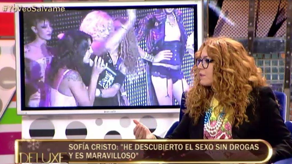 """Sofía Cristo: """"He descubierto el sexo sin drogas y es maravilloso"""""""