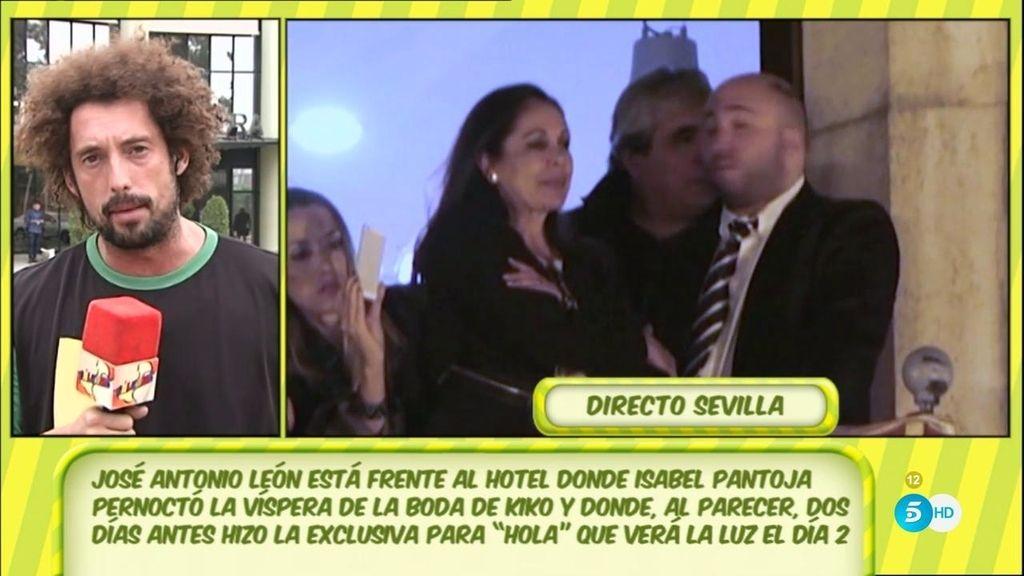 Se confirma la negociación secreta y exclusiva de la Pantoja con la revista 'Hola'