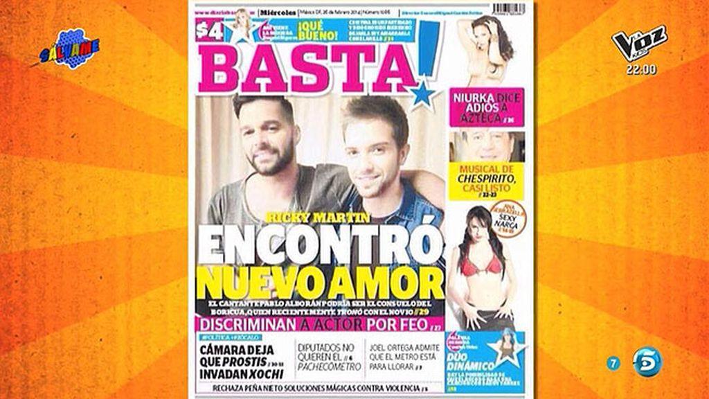Un diario mexicano asegura que Ricky Martin y Pablo Alborán mantienen una relación