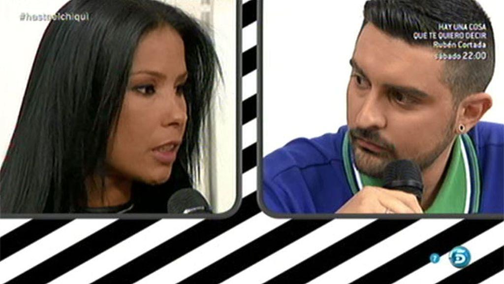 """Borja, a Paula: """"Es mentira que te dijera que estoy con Almudena por interés"""""""