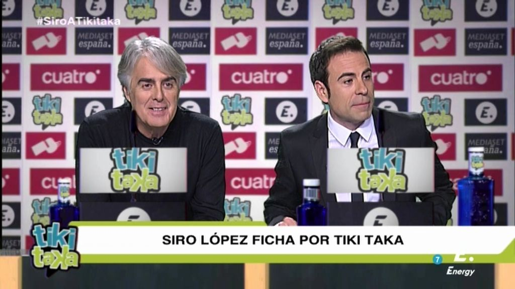 """Siro: """"Vengo al Madrid de la comunicación"""""""