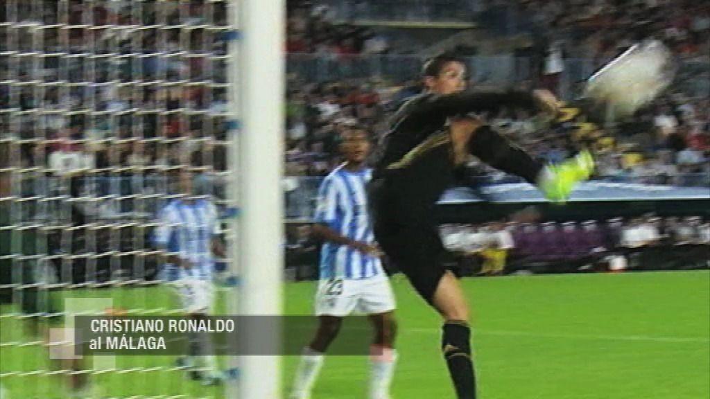 Málaga - Real Madrid: 'La espuela'