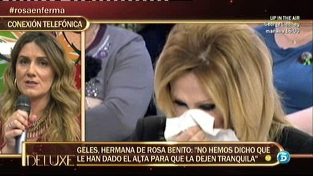 Carlota Corredera pide a Geles que se pongan en contacto con la productora
