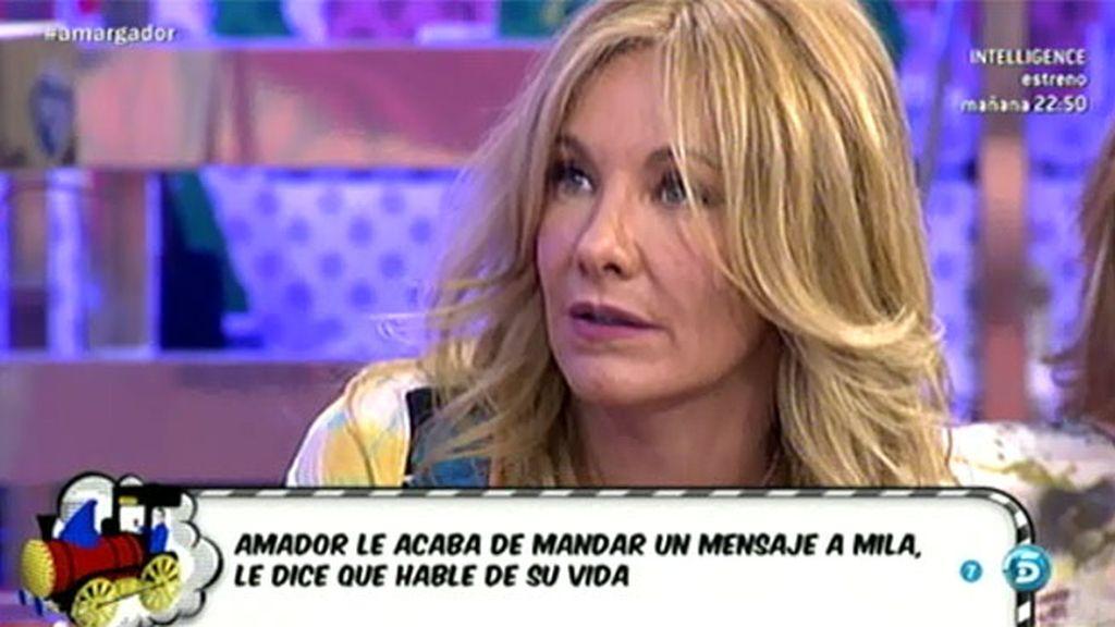 """Belén Rodríguez: """"Rosa Benito está mucho mejor y creo que totalmente recuperada"""""""