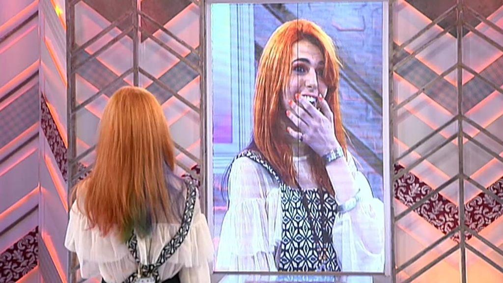 Sheila descubre el homenaje especial que ha hecho Pelayo en su pelo